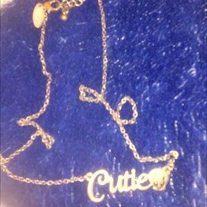 cutie Tweety  Bird necklace VTG